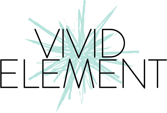 Vivid Element logo with title