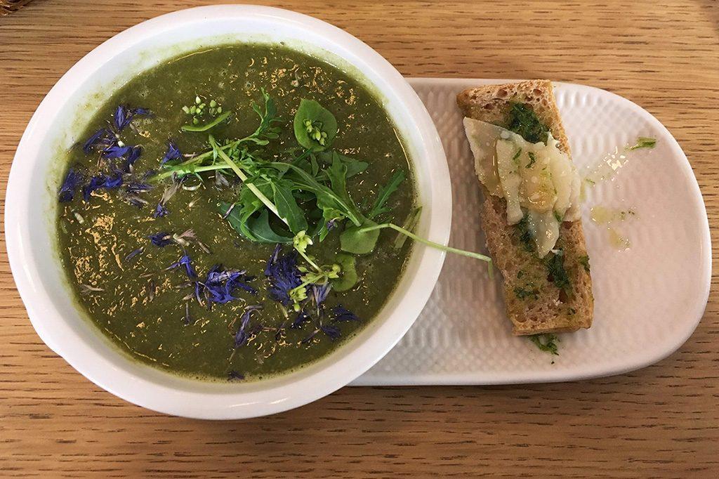 French bio soup