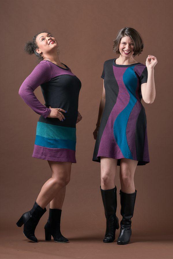 Vivid Element | Long Sleeve Poppy Dress and Solar Flare dress