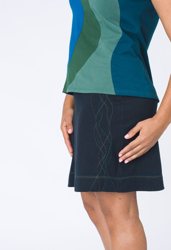 Vivid Element | Astro skirt detail