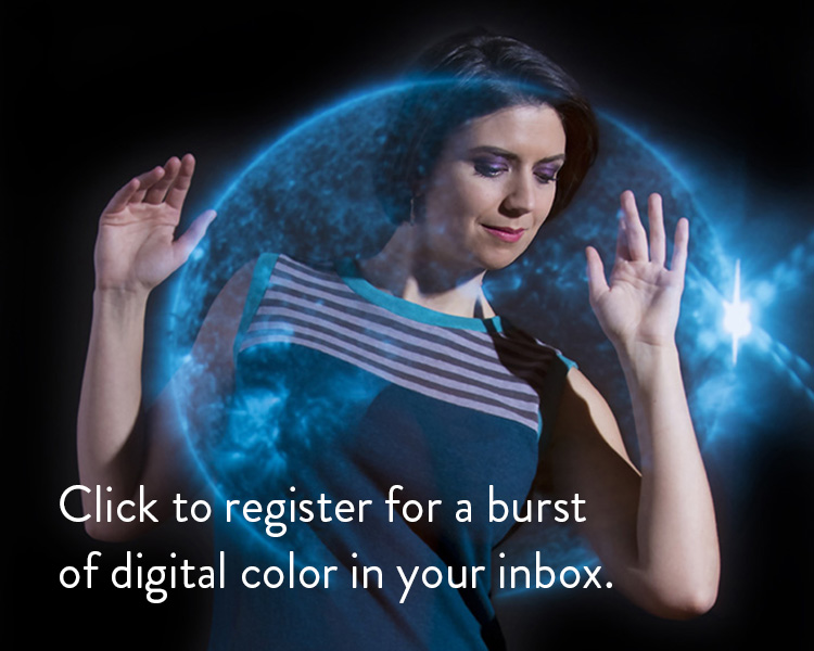 Vivid Element email signup with NASA image