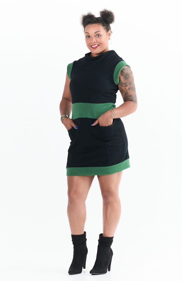 Evergreen Dress front view