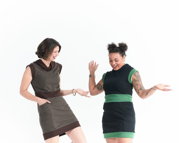 Vivid Element | Evergreen dress brown and green styles