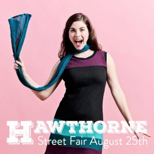 Hawthorne Street fair ad