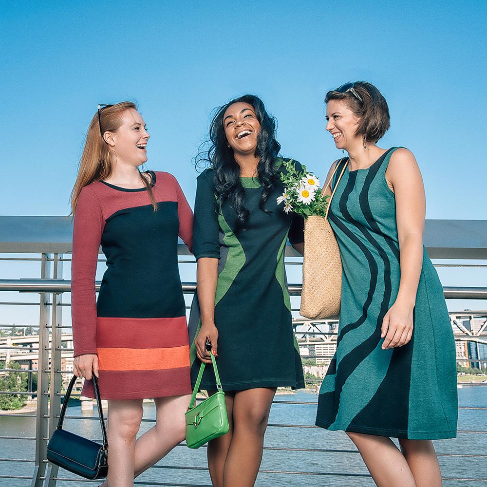Vivid Element 3 ladies in dresses