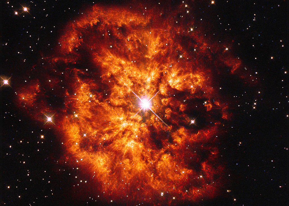 NASA space image - exploding star