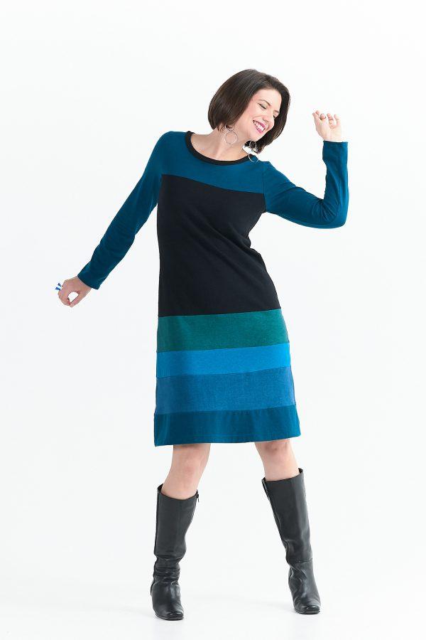 Vivid Element Blue Poppy Dress