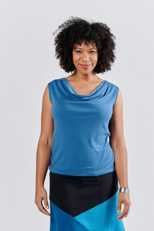Saturn Top in multiple colors, sleeveless