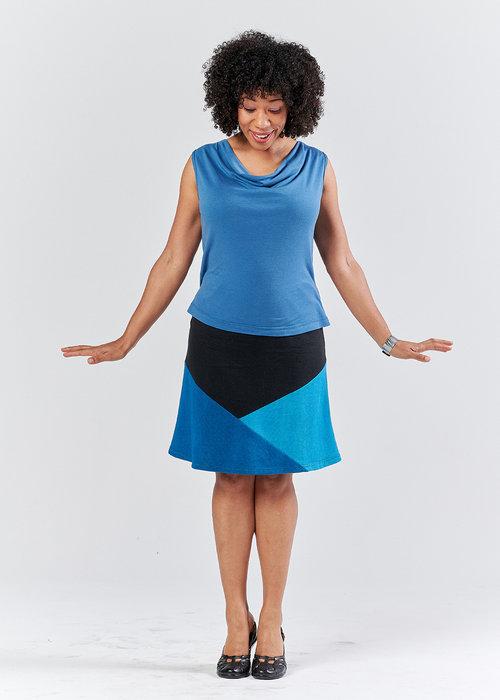 Vivid Element   A Line Crystal skirt