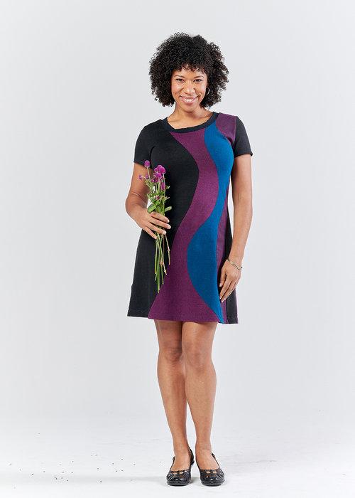 Vivid Element | Solar Flare dress | berry B
