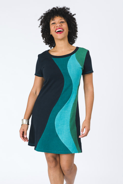 Vivid Element | Solar Flare dress | ocean A