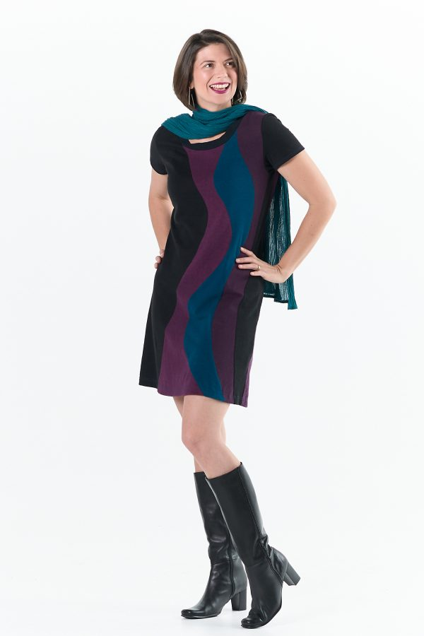 Solar Flare Dress and Earthstar Scarf