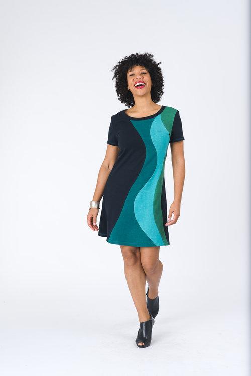 Vivid Element | Solar Flare dress | ocean C