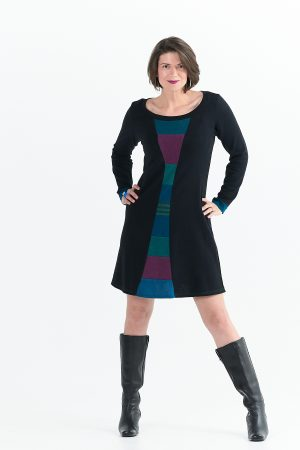 Time Travel Dress with Long Sleeves