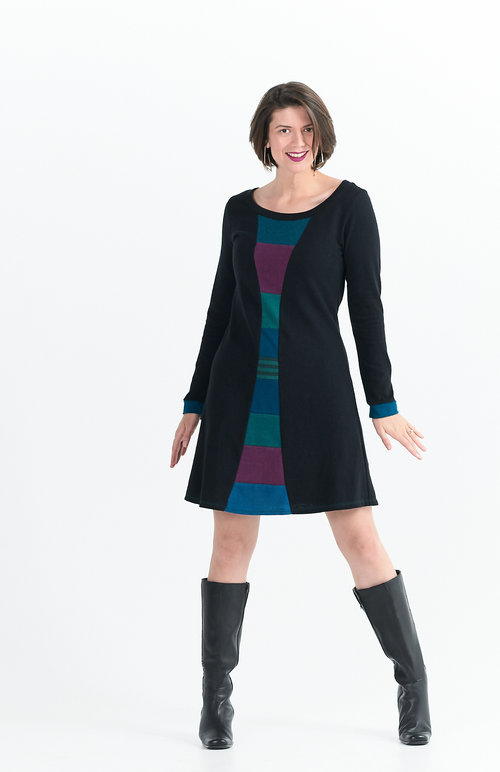 Vivid Element   Time Travel dress in berry C
