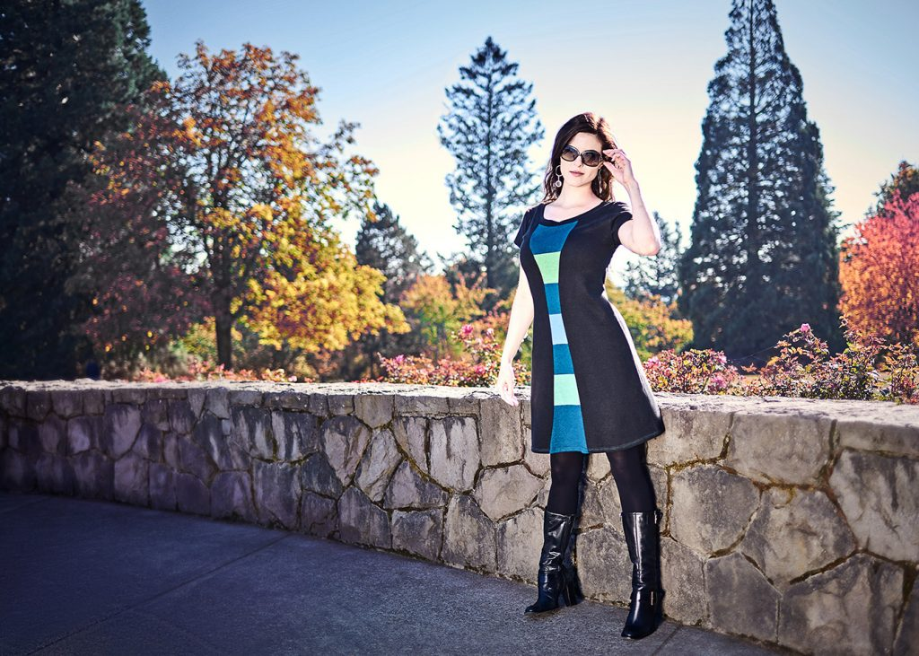 Time Travel dress at Council Crest park
