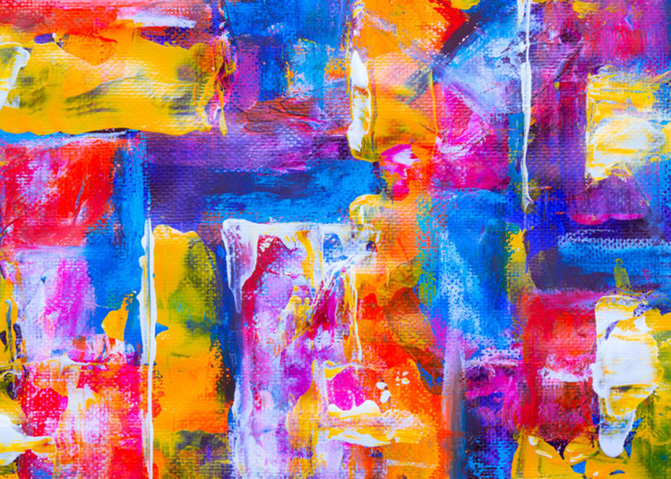 BAM abstract painting