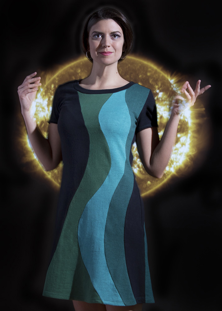 Vivid Element - solar flare dress