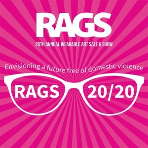 RAGS wearable art show poster