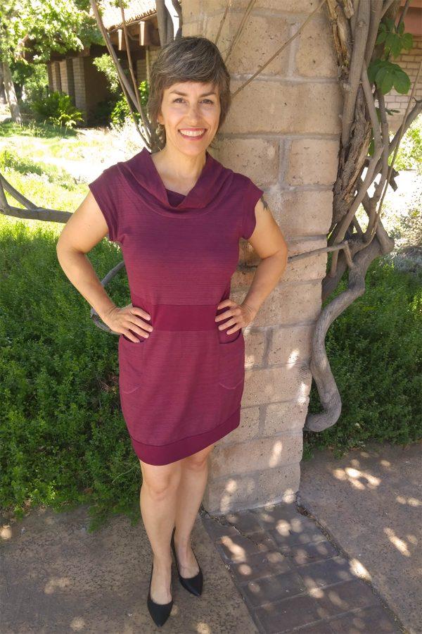 Vivid Element huckleberry dress