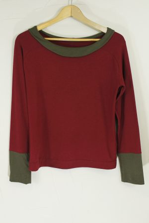 Mercury Top Red & Caper Green, SMALL